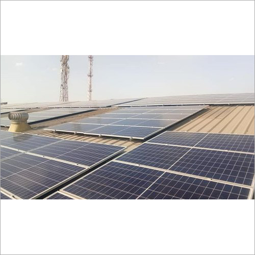 Rooftop Solar System Panel