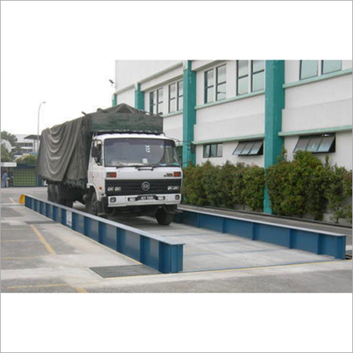 Mild Steel Cement Plant Weighbridge