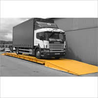 Mild Steel Container Terminal Weighbridge