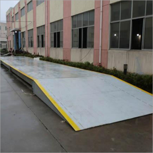 Mild Steel Weighbridge For Paper Industry