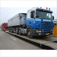 Mild Steel Heavy Vehicle Weighbridge
