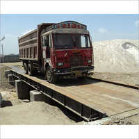 Mild Steel Weighbridge For Coal Field Industry