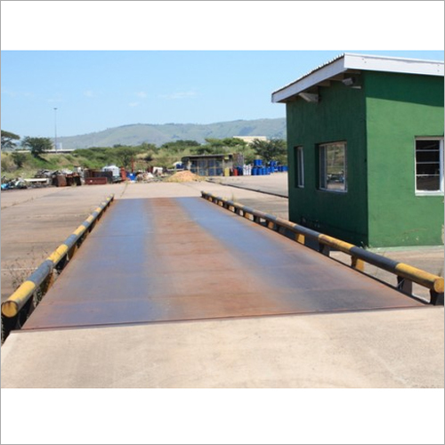 Mild Steel Weighbridge For Scrap Industry