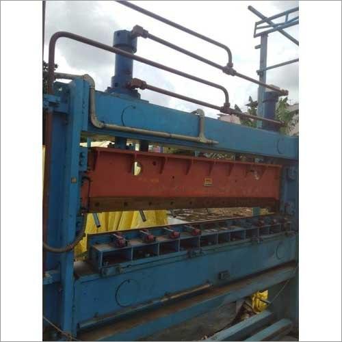Hydraulic Cut To Length Shearing Machine