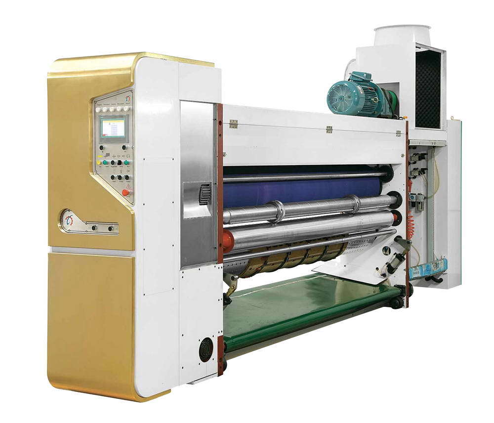 Fully Computerized Flexo Printer Slotter Die Cutter