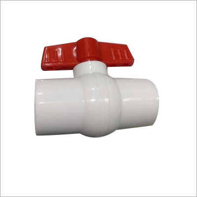White PP Ball Valve