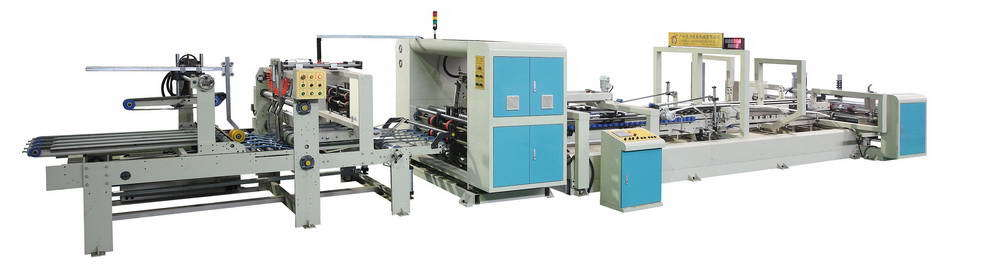 Automatic Folder Gluer Stitcher and Counter Ejector