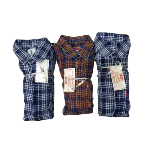 Casual Mens Check Shirt