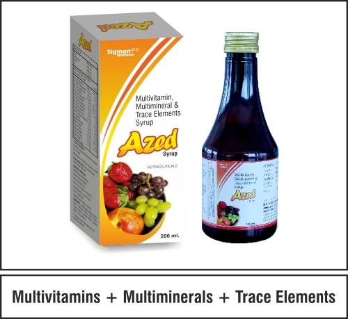 Multivitamin + Mineral Minerals + Trace Elements
