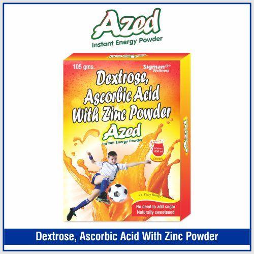 Dextrose  17.5gm + Sucrose  14gm + Zinc 32.5mg Ascorbic Acid (coated) 50mg