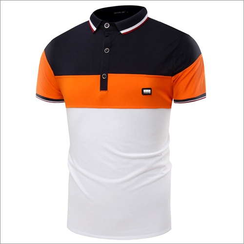 Mens Fancy Collar T- Shirt