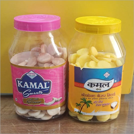 Coconut Sweet Mithai In Kesar And Coconut(1RS)