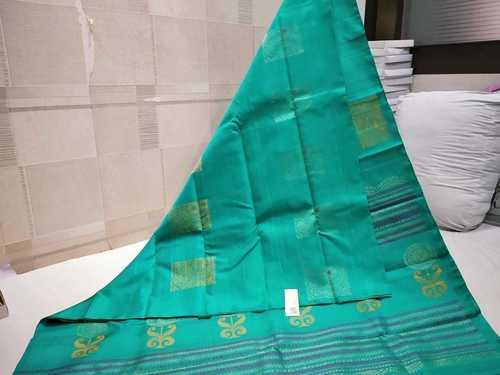 Pure Kanchipuram Soft Silk Without Border