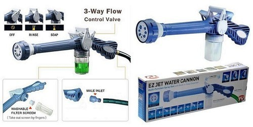 EZ Jet Cannon 8-in-1 Turbo Water Spray Gun