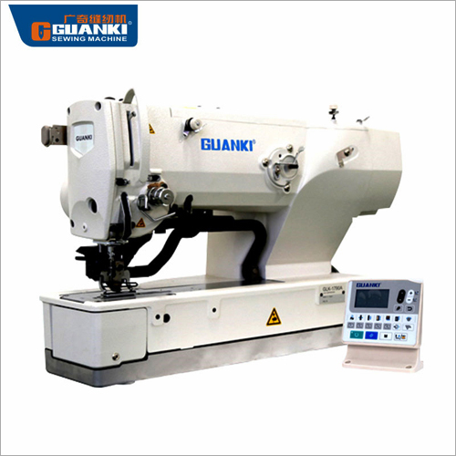 Electronic Eyelet Button Holing Machine