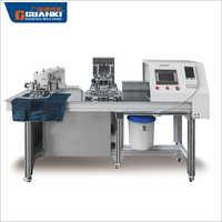 Automatic Shrinking Automatic Pocket Setter Sewing Machine