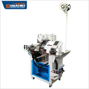 Automatic Cutting And Connecting Elastic Rubber Sewing Machine