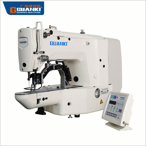 Direct-Drive Industrial Jeans Bartacking Sewing Machine