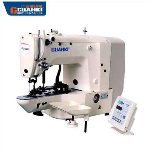 Electrical Button Attaching Industrial Sewing Machine