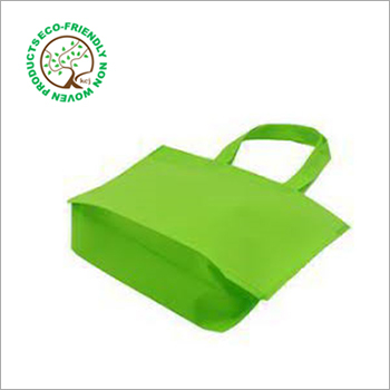 Green Non Woven Loop Handle Bag