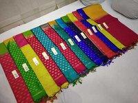 Pure Silk Turning Border Saree
