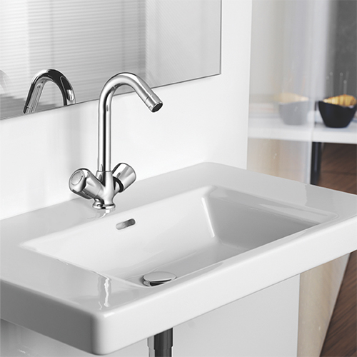 Tulip Series Center Hole Basin Mixer