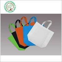 Green Non Woven Loop Handle Bag