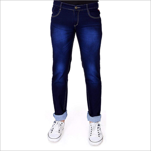 Mens Blue Denim Jeans