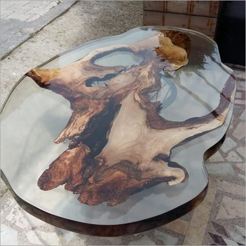 Artistic Resin Epoxy Centre Table