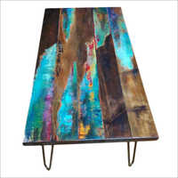 Resin Epoxy Dining Table