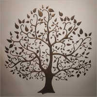 Decorative Tree Design Wall Mural