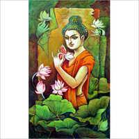 Buddha Conceptual Painting
