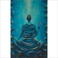 Indoor Buddha Wall Painting