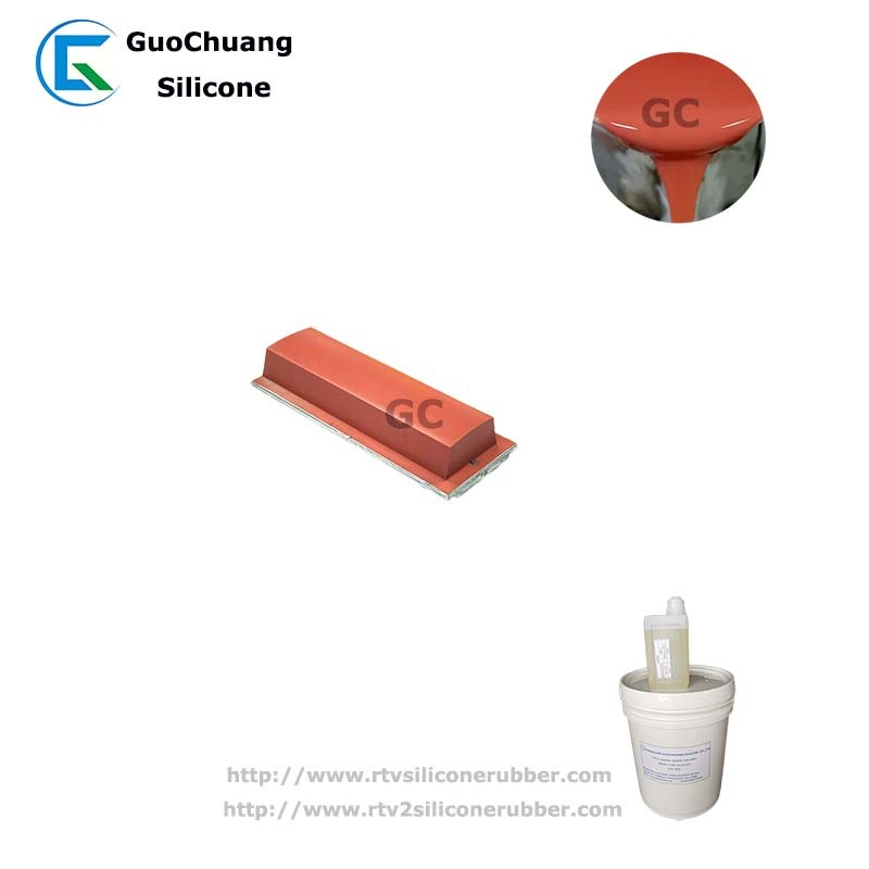 platinum cure silicone rubber for printing pad casting