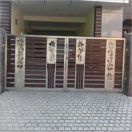 Stainless Steel Residential Main Gate