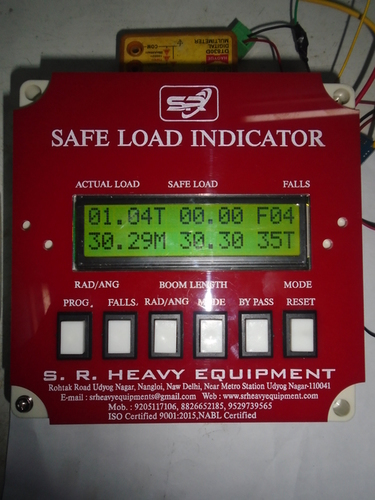 Crawler Crane Safe Load Indicator