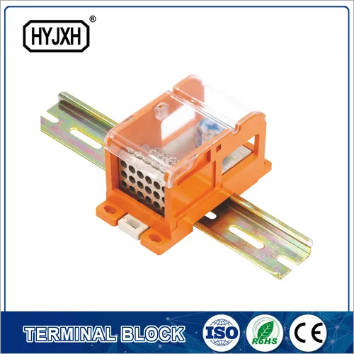 DIN rail type Multi-purpose energy measuring terminal block