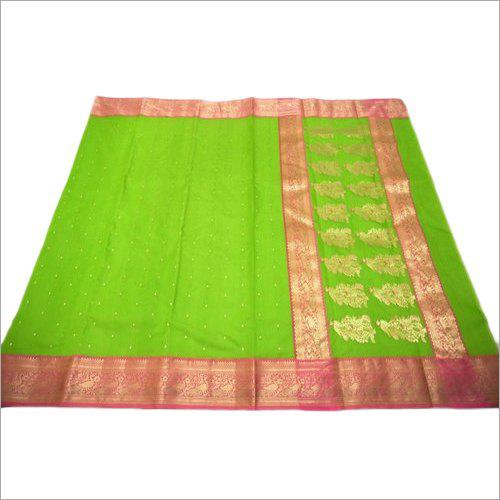 Party Wear Maheshwari Silk Saree