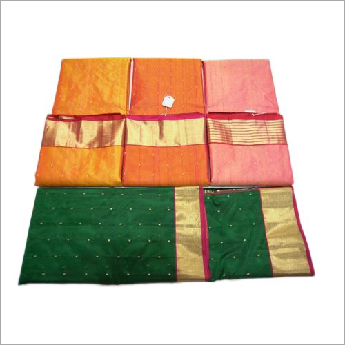 Ladies Fancy Maheshwari Silk Saree
