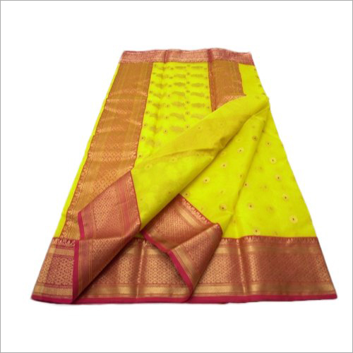 Traditional Maheshwari Silk Saree