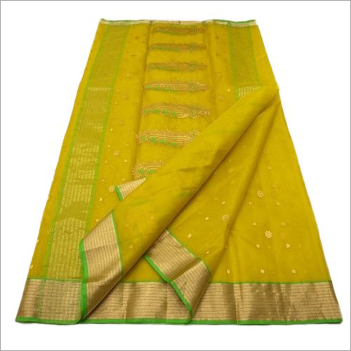 Chanderi Silk Fancy Saree
