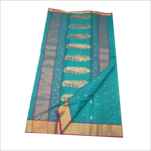 Ladies Maheshwari Silk Printed Saree