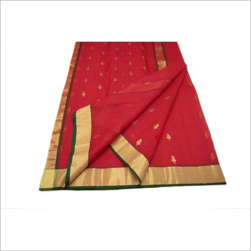 Ladies Chanderi Silk Printed Saree