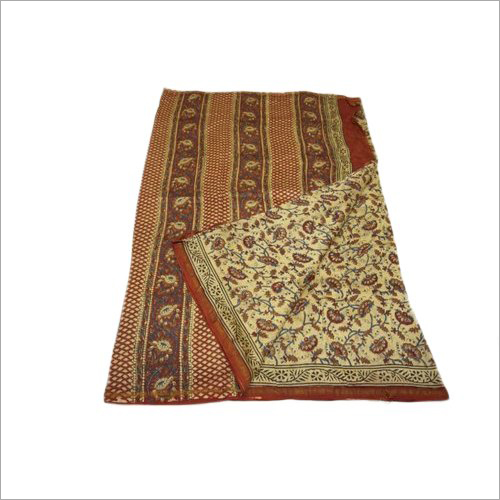 Chanderi Silk  Kanchi Border Saree