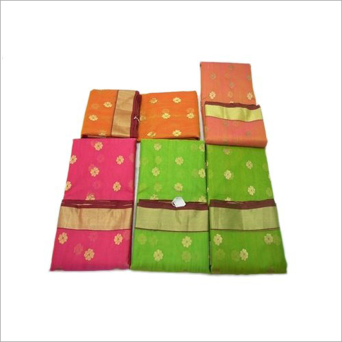 6.3 Meter Chanderi Silk Saree