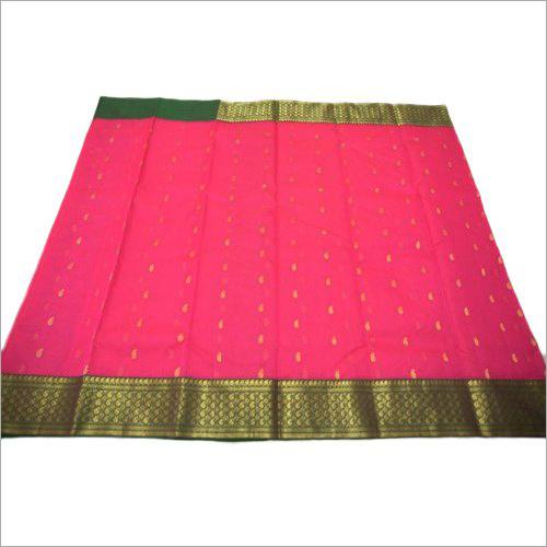 Cotton Silk Party Wear Saree