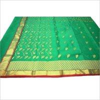 Chanderi Silk Party Wear Saree