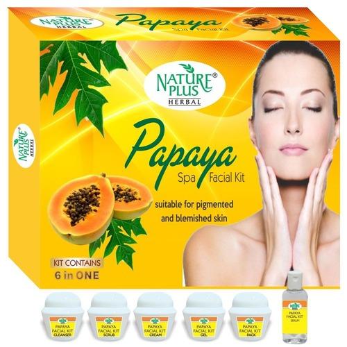 Nature Plus Herbal Papaya Facial Kit, 370gm