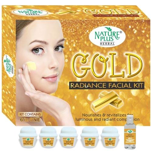 Nature Plus Herbal Gold Facial Kit, 370gm