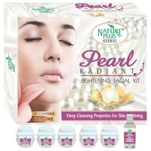 Nature Plus Pearl Radiant Lightening Facial Kit, 370